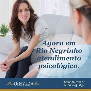 Psicóloga Rio Negrinho Henvida
