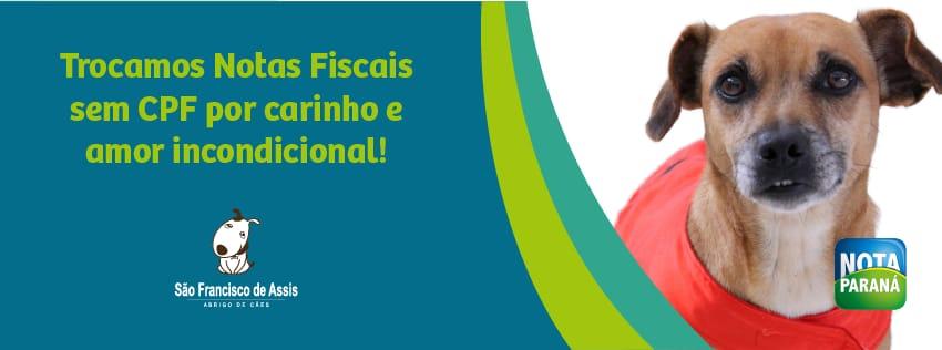 Como usar o Nota Paraná para ajudar o abrigo de cães de Rio Negro (2)