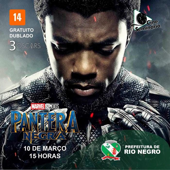 Pantera Negra no Cine Seminário