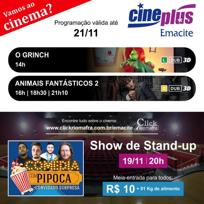 Concorra a ingressos para curtir o cinema na quarta-feira (dia 2111)