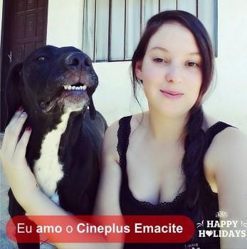 """Promoção """"Eu amo cachorro e o Cineplus Emacite"""" (25)"""