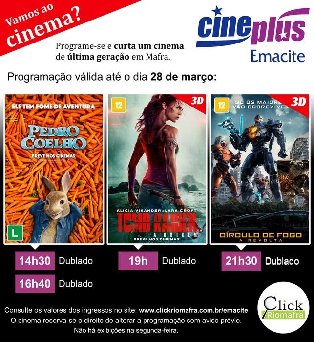 Circulo de Fogo 2, Pedro Coelho e Tomb Raider (21 mar 2018)