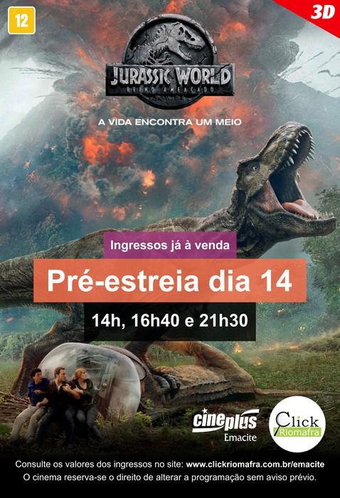 Jurassic World Reino Ameaçado - O filme mais assustador da franquia