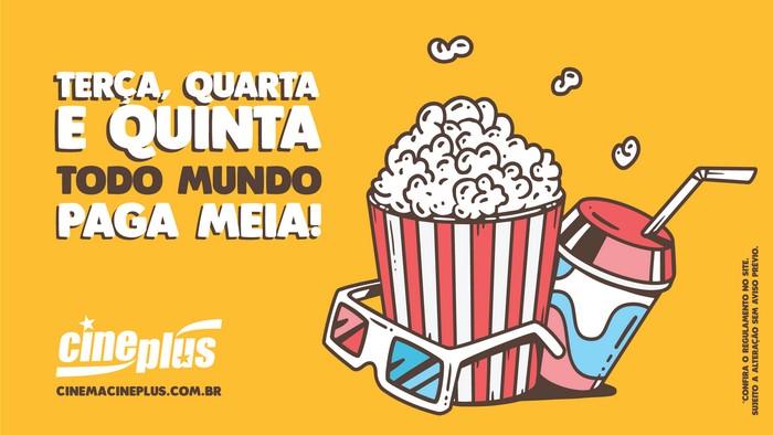 Promoção Três É Demais Cineplus