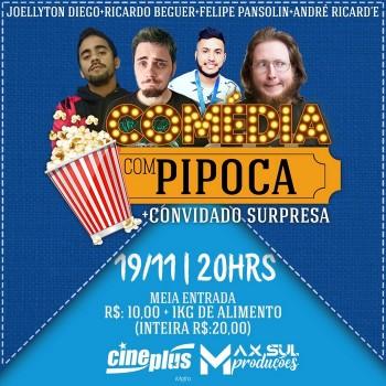 Comédia com Pipoca (Stand-up)