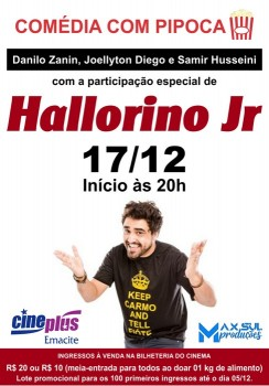 Stand-up com Hallorino Jr