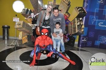 Fotos com o Homem-Aranha no Cineplus Emacite Dia 5 (2)