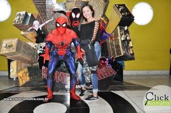 Fotos com o Homem-Aranha visita no Cineplus Emacite Dia 02 (1)