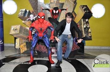 Fotos com o Homem-Aranha visita no Cineplus Emacite Dia 02 (11)