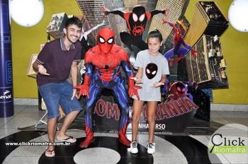 Fotos com o Homem-Aranha visita no Cineplus Emacite Dia 02 (13)