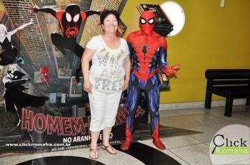 Fotos com o Homem-Aranha visita no Cineplus Emacite Dia 02 (15)