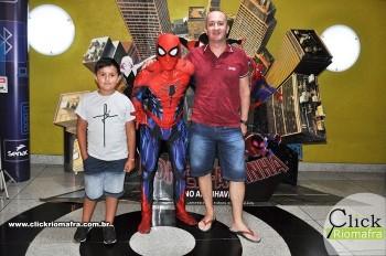 Fotos com o Homem-Aranha visita no Cineplus Emacite Dia 02 (3)