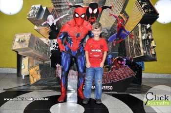 Fotos com o Homem-Aranha visita no Cineplus Emacite Dia 02 (4)