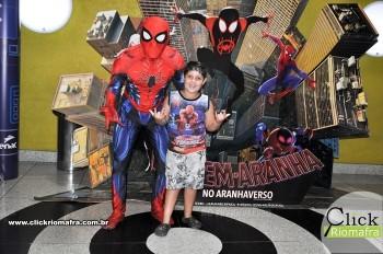 Fotos com o Homem-Aranha visita no Cineplus Emacite Dia 02 (7)