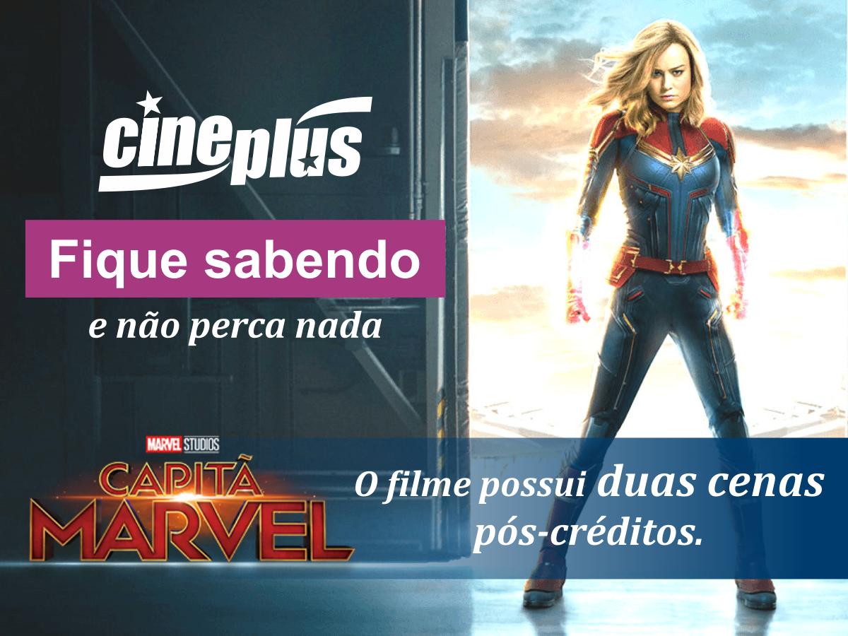 Capitã Marvel - Informações (07 mar 2019)