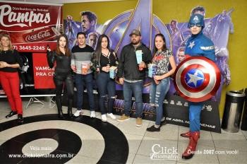 Distribuidora de Bebidas Pampas leva personagens do filme Vingadores ao Cineplus Emacite (30)