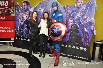 Distribuidora de Bebidas Pampas leva personagens do filme Vingadores ao Cineplus Emacite (36)