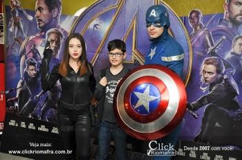 Distribuidora de Bebidas Pampas leva personagens do filme Vingadores ao Cineplus Emacite (49)