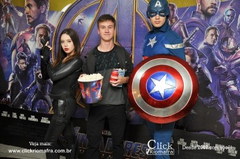 Distribuidora de Bebidas Pampas leva personagens do filme Vingadores ao Cineplus Emacite (54)