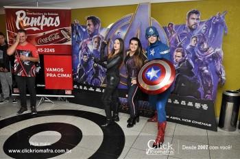 Distribuidora de Bebidas Pampas leva personagens do filme Vingadores ao Cineplus Emacite (58)