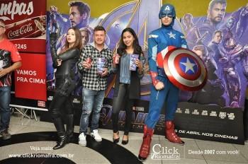 Distribuidora de Bebidas Pampas leva personagens do filme Vingadores ao Cineplus Emacite (70)