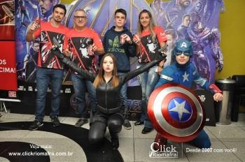 Distribuidora de Bebidas Pampas leva personagens do filme Vingadores ao Cineplus Emacite (72)