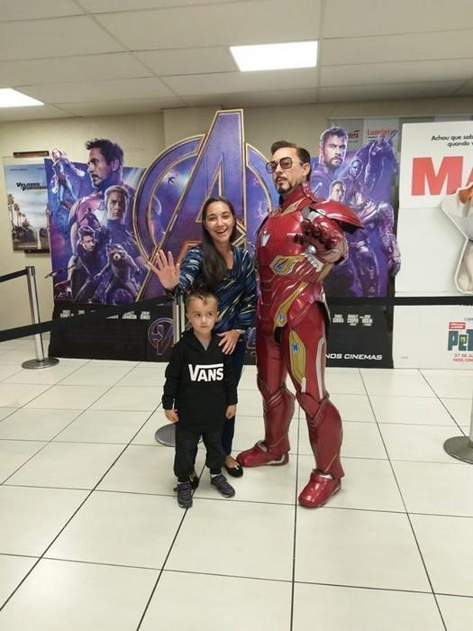 Cosplayers do Homem de Ferro e Gamora estarão no Cineplus Mafra (2)