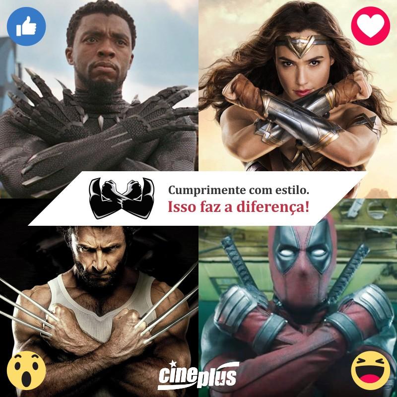 """Qual destes """"Wakanda Forever"""" você prefere"""