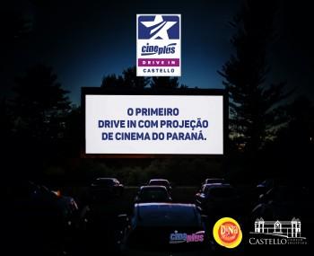 Cineplus fará o primeiro Drive In com Projeção de Cinema do Paraná