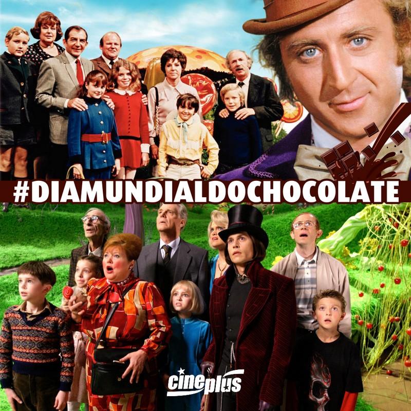 #DiaMundialDoChocolate – A Fantástica Fábrica de Chocolate