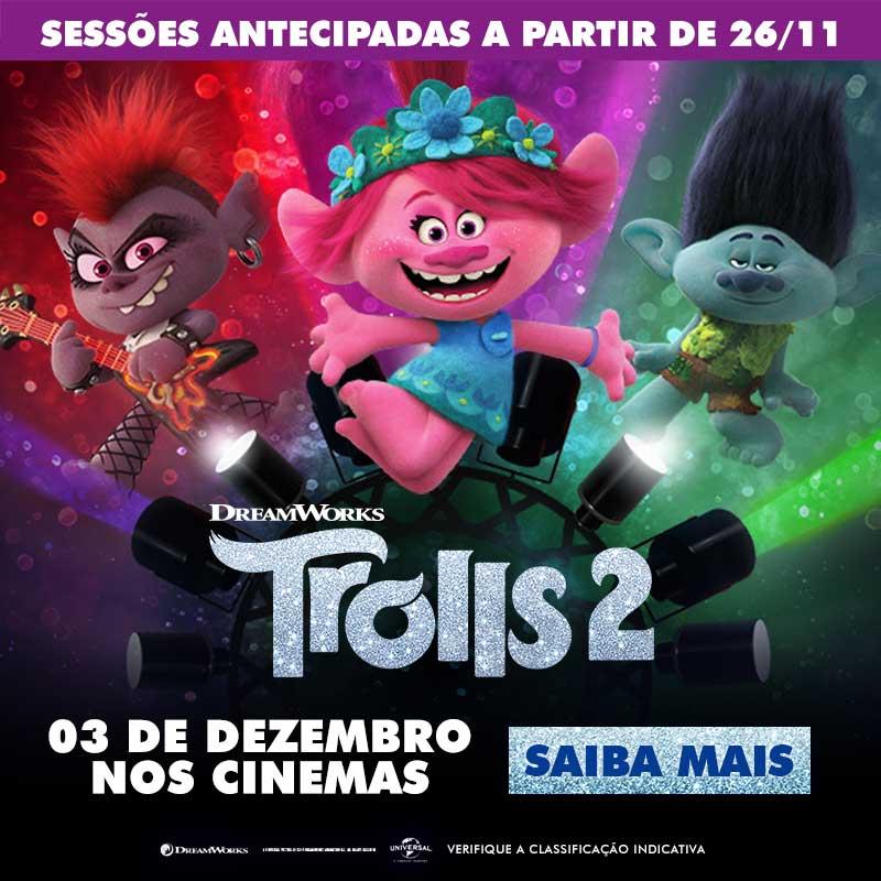 Cineplus Emacite terá pré-estreia do filme Trolls 2