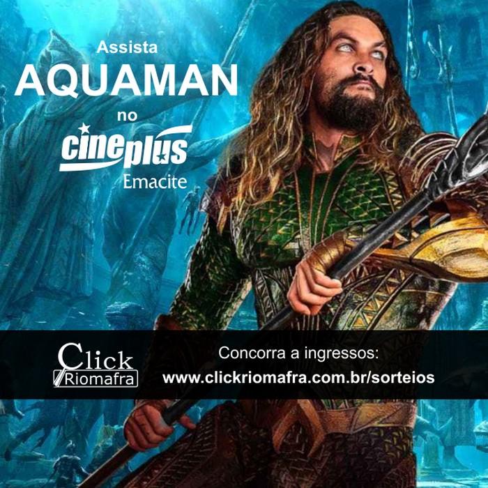 Assista a pré-estreia de Aquaman