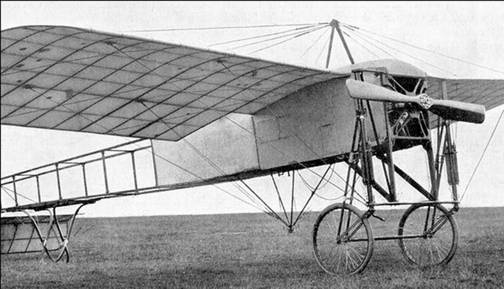 Avião modelo Blériot-Sit usado na Guerra do Contestado