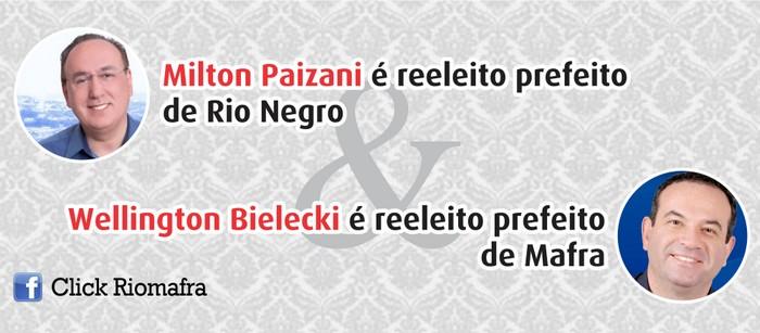 Resultados das eleições em Rio Negro, Mafra e região