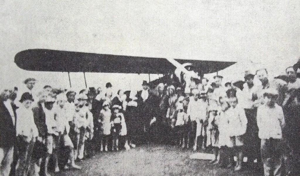 Avião no São Lourenço em 1934