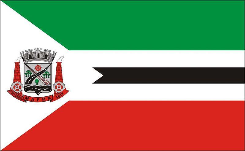 Bandeira da cidade de Mafra