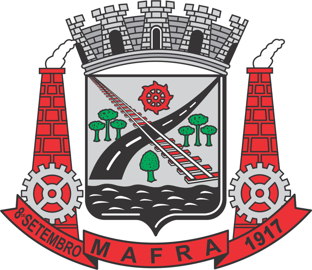 Brasão da cidade de Mafra