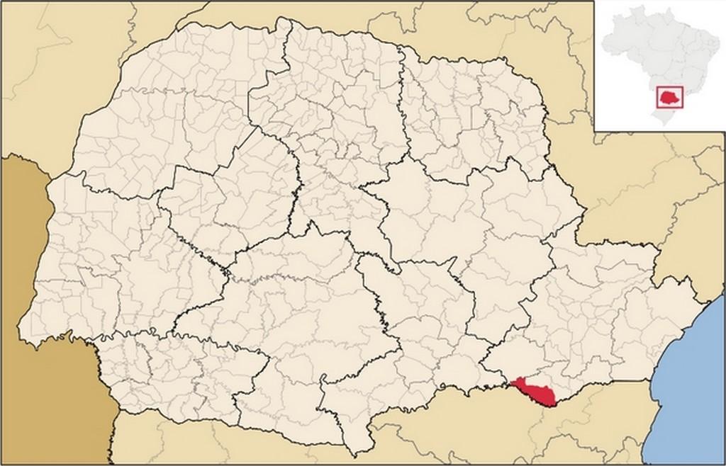 Localização da cidade de Rio Negro e principais distâncias
