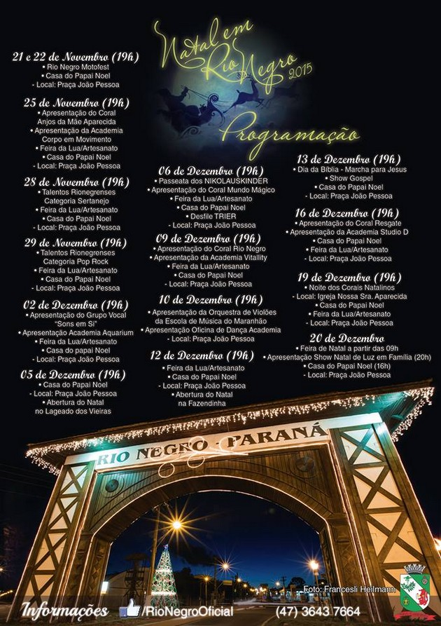 Natal em Rio Negro 2015 (2)