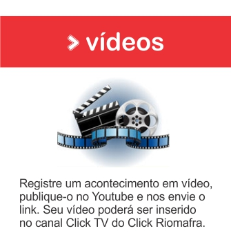 Envie a sua notícia em forma de vídeo para o Click Riomafra