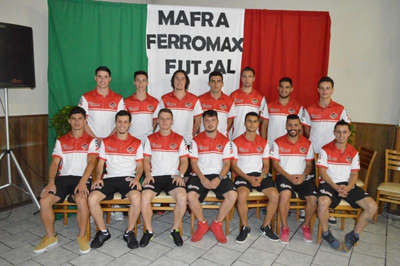 Plantel do Mafra Ferromax Futsal é apresentado oficialmente  376b85a34a571