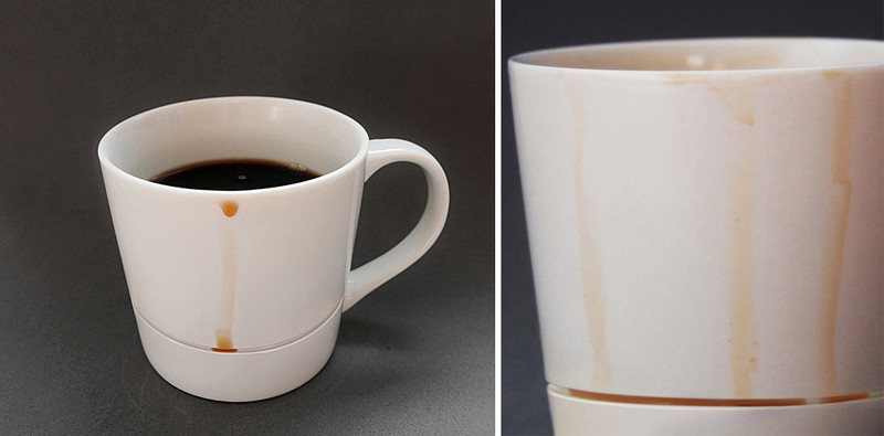 Como remover manchas de café nas louças