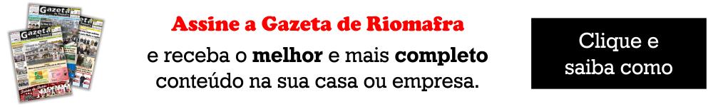 Assine o jornal Gazeta de Riomafra